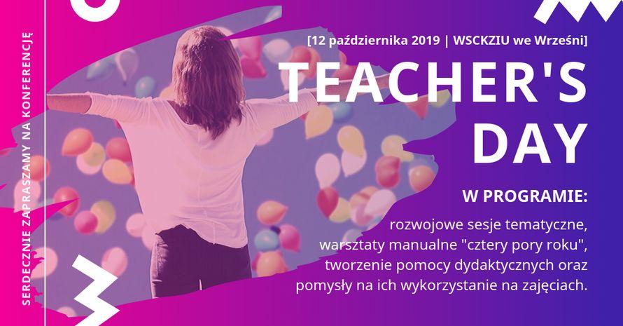 Świętujmy razem Dzień Nauczyciela