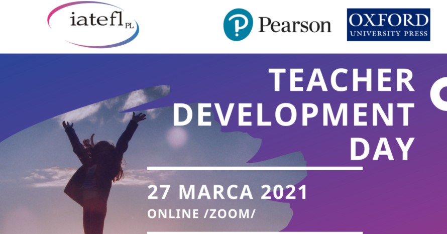 Zaproszenie na Teacher Development Day 27/03/2021